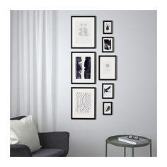 30x40cm passe-partout; Ikea knoppäng cadre blanc; incl cadre photo cadre photo