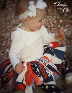 Denver Broncos Tutu 1218 months by CheylynChic on Etsy, $35.00 @Arica Heintz