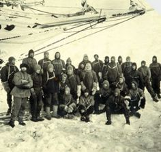 28 men, stranded on the ice for almost 2 years. All survived.