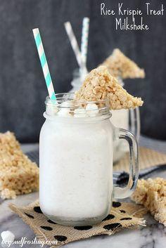 Rice Krispie Treat Milkshake