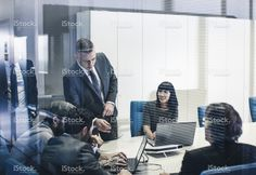 Business team at the office stock photo 81218953 - iStock
