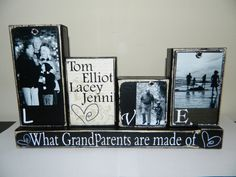 Grandparent gift grandma grandpa love what by FayesAttic11 on Etsy, $28.00
