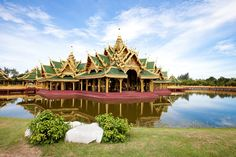 Bangkok, Thailand, Cabin, Mansions, House Styles, Places, Travel, Decor, Viajes