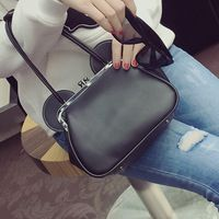 2016 High Quality PU Leather Shoulder Bag Casual Women Handbag Female Small Bags Vintage Women Messenger Bag With Ear shape