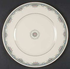 """Albany"" china pattern from Royal Doulton."