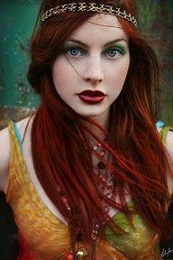 red hair, soo pretty :D
