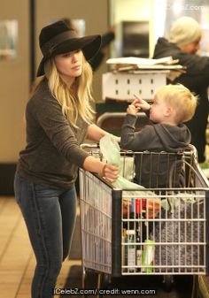 Hilary Duff shopping for groceries with son Luca at Whole Foods Market in Beverly Hills See More Pic. http://www.icelebz.com/events/hilary_duff_shopping_for_groceries_with_son_luca_at_whole_foods_market_in_beverly_hills/
