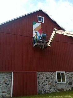 Barn Quilt, Nancy Zieman's Blog | How to Hang a Barn Quilt