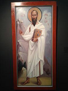Paul The Apostle, Best Icons, Byzantine Icons, Orthodox Christianity, Orthodox Icons, Romans, Fresco, Mosaic, Saints