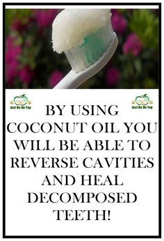 You probably already know about the coconut oil and its healing effects and you also probably know how good it is for dental care and oral hygiene. Many studies have proved that coconut oil is in fact even better than all toothpastes produced since it does not have chemicals, artificial compounds an... #toothdecaytreatment
