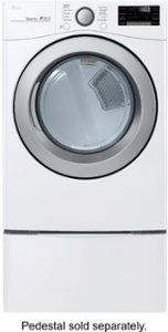 Smart Wi-Fi Enabled Electric Dryer White at Best Buy. Find low everyday prices and buy online for delivery or in-store pick-up. Laundry Room Storage, Laundry Room Design, Best Dryer, Stainless Steel Drum, Bottom Freezer Refrigerator, Front Load Washer, Simple App, Energy Saver, Washer And Dryer