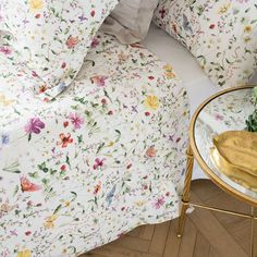 Luxury Bedding Sets For Less Beige Bed Linen, Linen Bedroom, Linen Bedding, Bed Linens, Room Ideas Bedroom, Small Room Bedroom, Butterfly Bedroom, Butterfly Print, Nursery Bedding Sets Girl