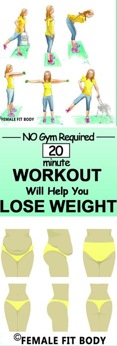Try it anywhere, anytime... This 20-Minute Workout Will Help You Lose Weight