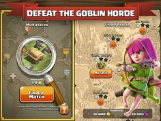 Clash of Clans - Defeat The Goblin Horde Android Art, Android Hacks, Android Watch, Clan Games, Clash Of Clans Game, Android Library, Play Store App, App Store, Android Tutorials