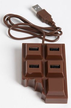 Kikkerland Design Chocolate USB Hub | Nordstrom More at http://atechpoint.com/ #tech #atechpoint