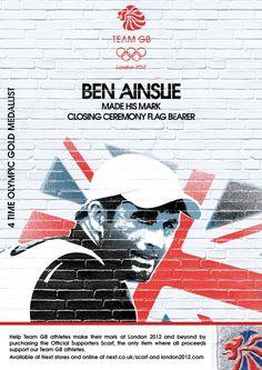 Ben Ainslie - 4x Gold medalist