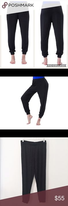 Electric Yoga Parachute Jogging Pants Comfy Electric Yofa jogging pants by Michelle Bohbot. Elastic Waist and ankles. Small hole on side directly under waistband from tag,unnoticeable when worn with top. NWOT. NO TRADES! Electric Yoga Pants Track Pants & Joggers