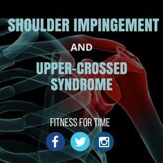 Shoulder issues seem to be an epidemic among CrossFitters - learn how you can take preventative measures to keep your shoulders in optimal health.  http://www.fitnessfortime.com/home/2015/7/11/shoulder-impingement-and-upper-cross-syndrome