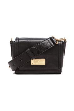 Marc by Marc Jacobs Mility Utility Sadie X-Body Bag in Black