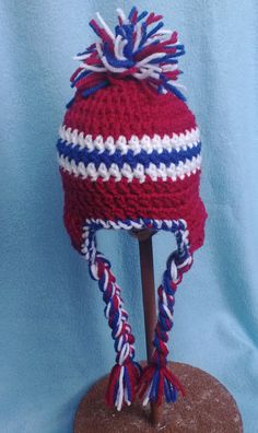 0 to 6 Months Crochet Baby Hat