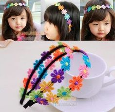 Cute hairbands for your little girls  From China  RM8 each  PRE ORDER now..