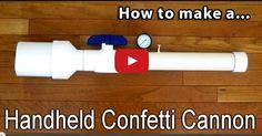 How to Make a Simple Confetti Cannon.