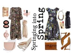 Springing into Spring by aneeqlondon on Polyvore featuring Tory Burch, Olivia Burton, Yves Saint Laurent and Sephora Collection