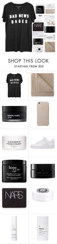 """ONLY FOOLS FALL FOR YOU"" by constellation-s ❤ liked on Polyvore featuring Nikon, Martex, Koh Gen Do, NIKE, philosophy, arbÅ«, NARS Cosmetics, Diptyque, This Works and Balsem"