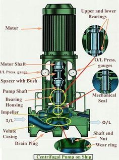 Mechanical Engineering: Construction of Centrifugal pump Alternative Energy Marine Engineering, Engineering Science, Electronic Engineering, Electrical Engineering, Science And Technology, Mechanical Engineering Technology, Piping And Instrumentation Diagram, New Electronic Gadgets, Centrifugal Pump