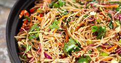 Asiatisk nudelsalat