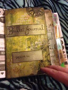 Cover of bullet journal
