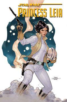 """Star Wars: Princess Leia"" by M. Waid, T. Dodson"