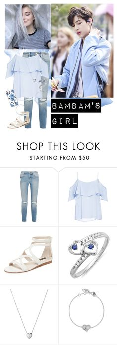 """BamBam's Girl"" by infinite-exo-girl ❤ liked on Polyvore featuring Frame, BB Dakota, Ava & Aiden, YES, Links of London, Vivienne Westwood and Casetify"