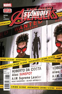 New Avengers Marvel Comics 2015 Squirrel Girl Free Comic Books, Comic Book Covers, Comic Books Art, Avengers 2015, New Avengers, Midtown Comics, Squirrel Girl, Marvel Now, Comic Book Collection