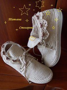 OK Crochet Boot Cuffs, Crochet Boots, Crochet Purses, Crochet Slippers, Knit Crochet, Crochet Shoes Pattern, Shoe Pattern, Crochet Patterns, Crochet Sandals