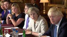 Theresa May tells ministers UK must make success of Brexit Theresa May, Success, News