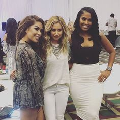 fd93db241ec6 Ashley Tisdale · Look who we ran into in the VIP room at  BeautyCon   iluvsarahii  amp . Illuminate ...