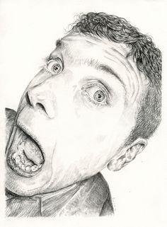 Pencil Portraits - tom hovey
