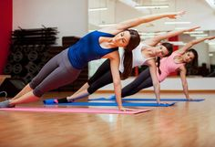 Aerobic fitness equipment needed for an effective workout.