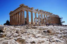 Parthenon - Atenas - Grécia - Viagem com Sabor