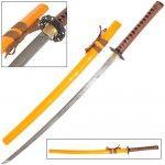 shimo hana 1060 carbon steel katana sword