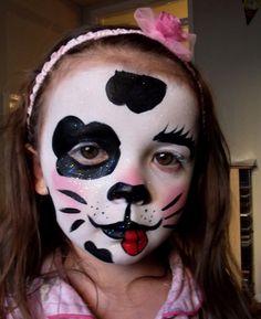 dalmatian face paint - Google Search