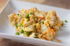 Dandelions on the Wall: Gluten, Dairy, and Soy Free Chicken Fried Rice.  Make without peas!