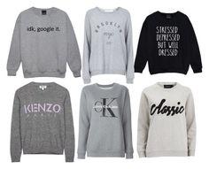 """bluzy"" by ada-raj on Polyvore featuring moda, Topshop, Calvin Klein Jeans, Kenzo i MINKPINK"
