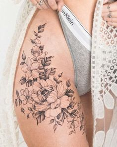I like the way this wraps around the front of the thigh