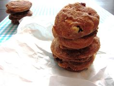 Soft baked Marmorcookies mit Cranberries