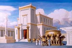 Originally, Israel did not have a temple. Instead, they had a tent (called the tabernacle in some versions of the Bible) which was the centre of their worship and the place where God was said to dw… Jewish Temple, Temple In Jerusalem, Feasts Of The Lord, Third Temple, Solomons Temple, Arte Judaica, Temple Mount, 12 Tribes Of Israel, King Solomon
