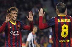 Neymar pone la magia en el Camp Nou