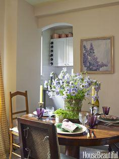 A photograph makes a crisp, cool, luminous impact on any interior.