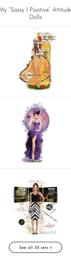 """My ""Sassy / Positive"" Attitude Dolls"" by mari-777 ❤ liked on Polyvore featuring art, Elementem Photography, River Island, Kardashian Kollection, Nicolas Jebran, Fall, fun, doll, apple and kitchen"